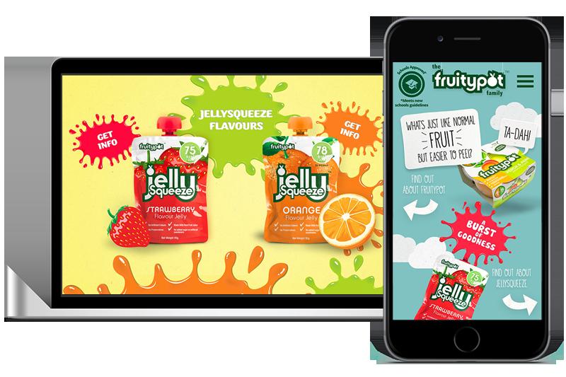 Fruity pot web design