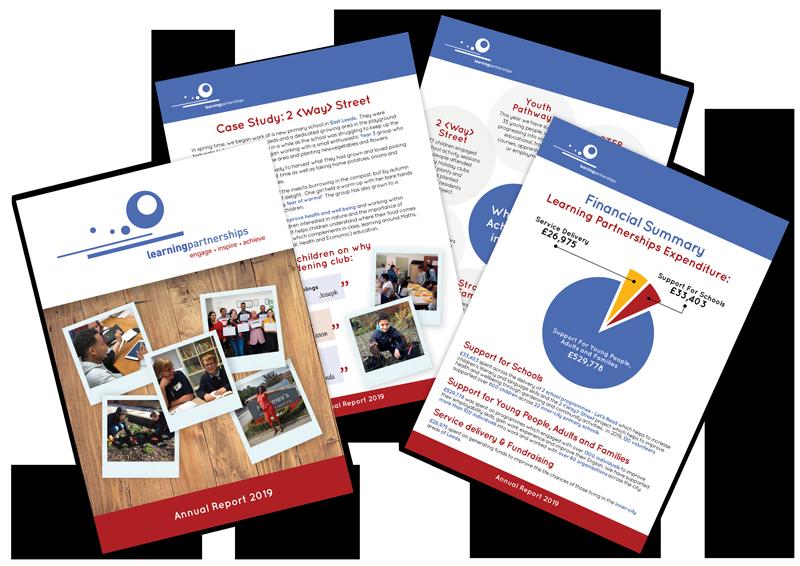 Learning partnership leaflets