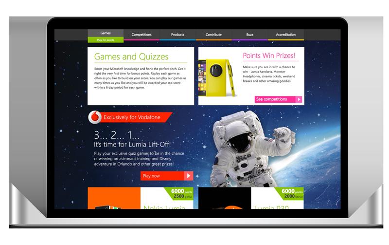 Lumia eLearning website